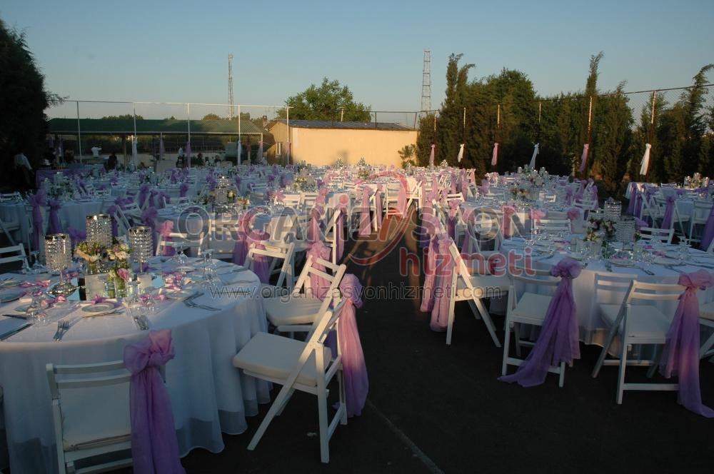 Düğün Masa ve Sandalye Kiralama