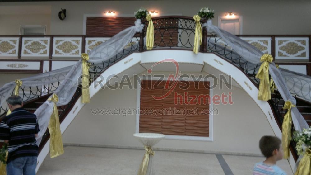 Düğün Organizasyonu Tül Süsleme