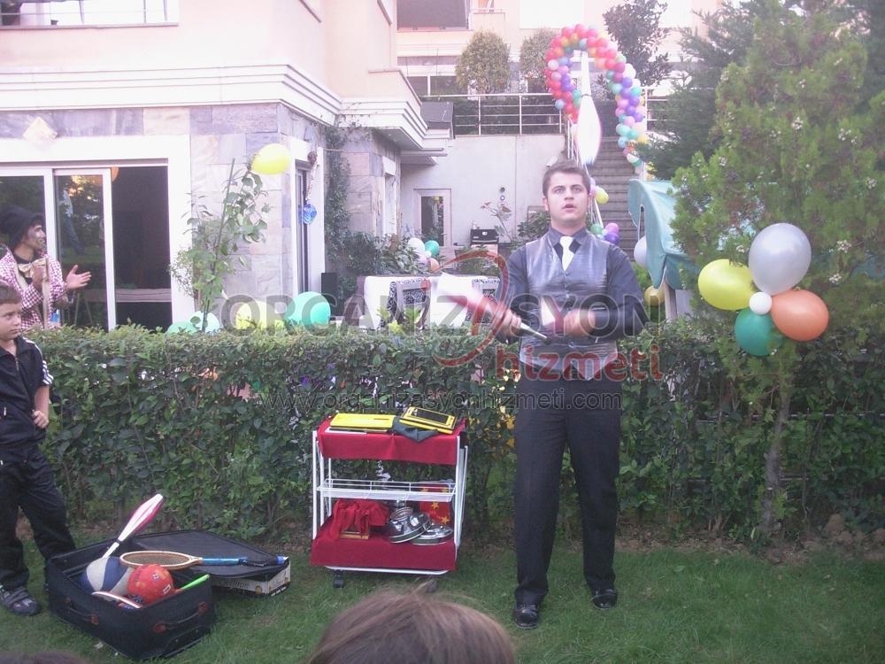 Doğum Günü Sihirbaz Jonglör