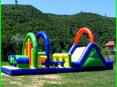 Piknik için şişme oyun parkları
