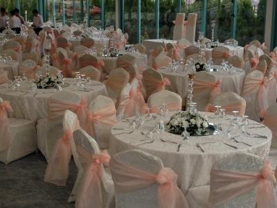 Düğün Süslemeleri Masa Sandalye Süsleme