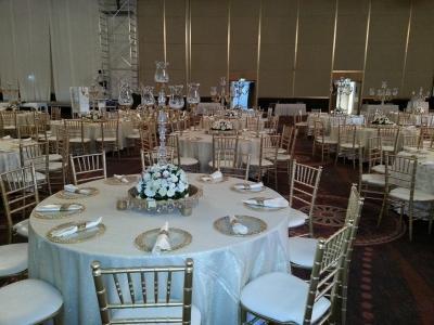 tiffany sandalye düğün süsleme