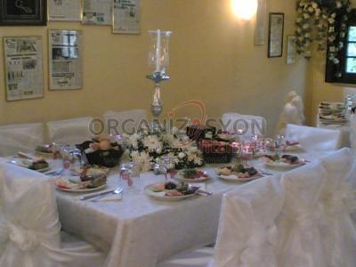 Şamdan ve Masa Süsleme