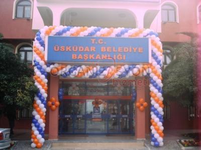 Açılış Organizasyonu Balon Süslemeleri
