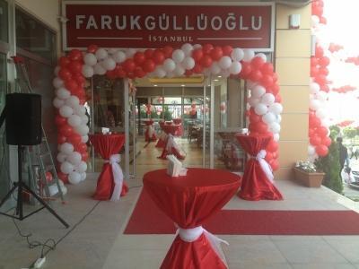 Faruk Güllüoğlu Açılış Organizasyonu