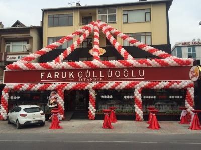 Faruk Güllüoğlu açılış balon süslemesi