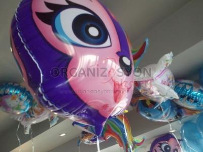 Doğum Günü Folyo Uçan Balon