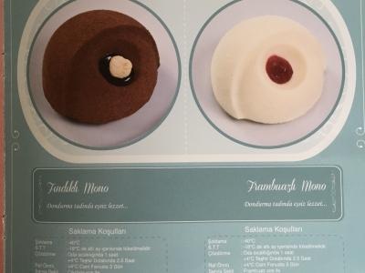Fındıklı Mono Ve Frambuaz Mono düğün pastası
