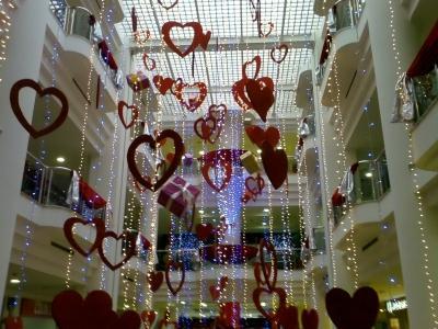 Sevgililer günü süsleri
