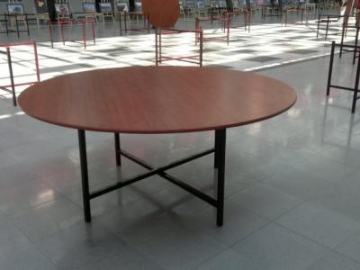 180 cm 10 Kişilik yuvarlak masa kiralama