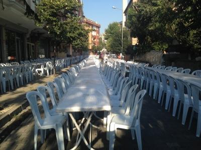 Plastik sandalye ve masa kiralama