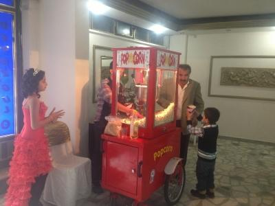 Popcorn makinesi kiralama