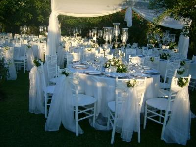 Masa üstü düğün süslemeleri