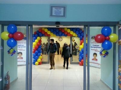 Balon kapı kemeri