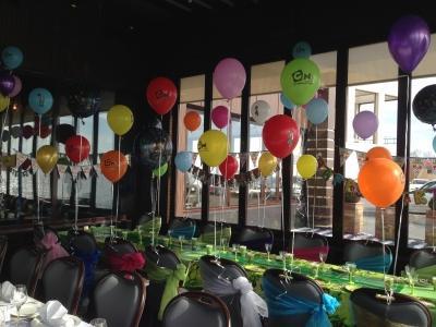 doğum günü uçan balon süsleme