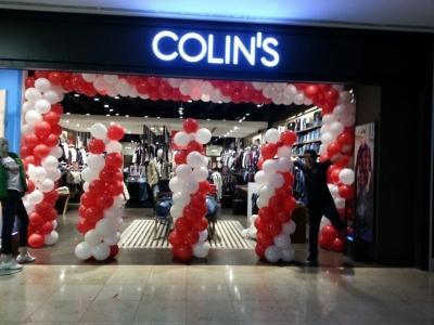 Mağaza balon süslemeleri