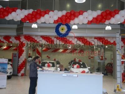 Showroom Balon Süsleme
