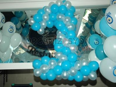 Doğumgünü Balon Süsleme