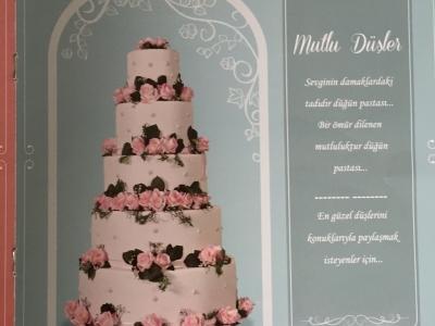 Düğün Pastası - Organizasyon Pastası